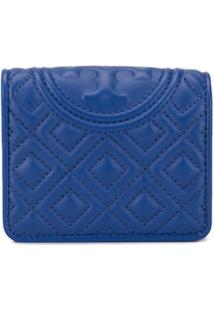Tory Burch Carteira Fleming Mini - Azul