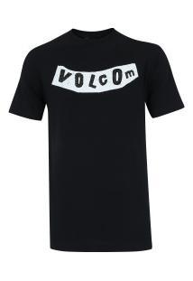 Camiseta Volcom Silk Pistol - Masculina - Preto