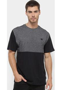 Camiseta Dc Shoes Esp Block Masculina - Masculino