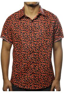 Camisa Camaleão Urbano Pimenta Preto