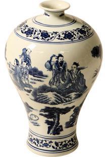 Vaso Decorativo De Porcelana Ulitz