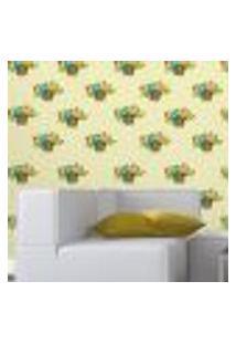 Papel De Parede Autocolante Rolo 0,58 X 5M - Floral 33