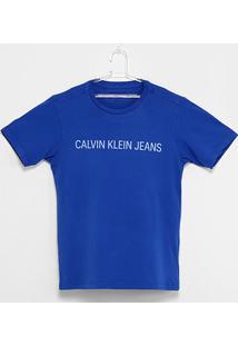 Camiseta Infantil Calvin Klein Jeans Masculina - Masculino
