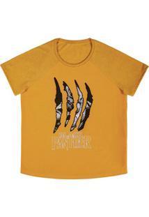 Blusa Estampada Em Malha Amarelo