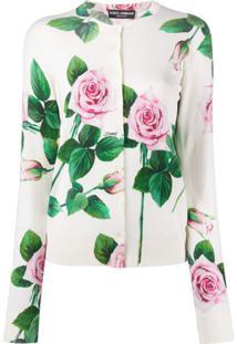 Dolce & Gabbana Roses Top - Branco