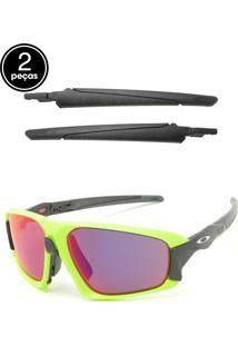 Óculos De Sol Oakley Field Jacket Verde/Preto