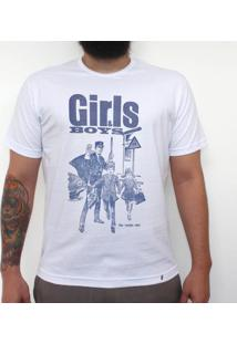 Girls & Boys - Camiseta Clássica Masculina