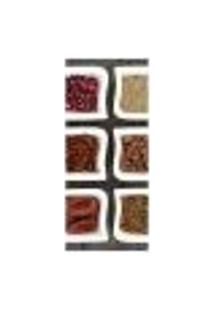 Adesivo Decorativo De Porta - Temperos - 1283Cnpt