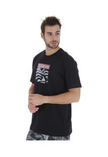 Camiseta Volcom Silk Reload - Masculina - Preto
