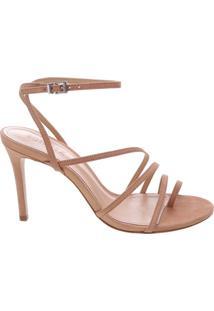 Sandália Mid Heel Curves Neutral | Schutz