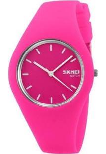 Relógio Skmei Analógico Feminino - Feminino-Pink