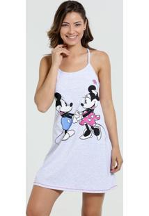 Camisola Feminina Nadador Mickey Minnie Disney