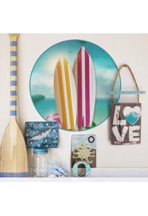 Adesivo De Parede Surf Board