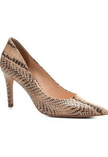 Scarpin Shoestock Salto Alto Cobra - Feminino