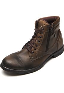 Bota Mr. Kitsch Cape Town Up 500 Cinza/Bege