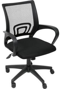 Cadeira De Escritório Tok- Preta- 99X49X46Cm- Oror Design