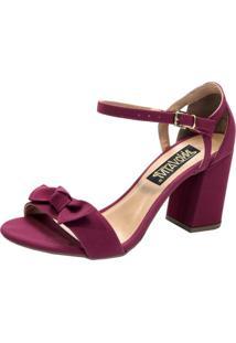 Sandalia Innovativi Camurça Pink