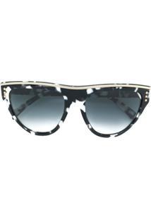 Óculos De Sol Moschino Preto feminino   Shoelover 1ef0a83e8a