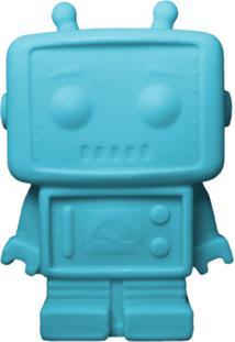 Luminária Casa Da Mãe Joana Robô Azul