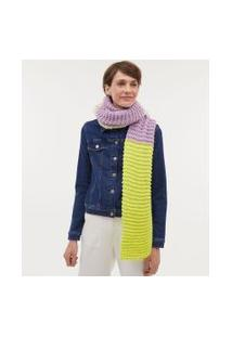 Cachecol Tricolor Em Tricot | Accessories | Multicores | U