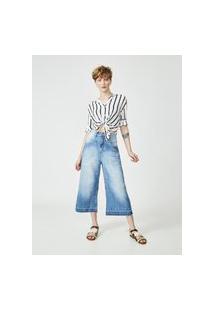 Calça Pantacourt Marion-Amapô Jeans