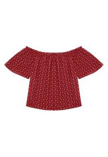 Blusa Feminina Ciganinha Rovitex Vermelho