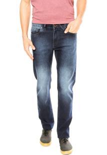 Calça Jeans Volcom Solver Iii Azul