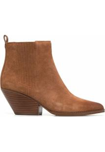 Michael Michael Kors Ankle Boot Sinclair - Marrom