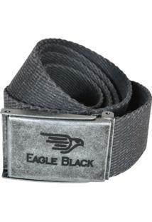 Cinto Eagle Black Gorgurão - Masculino