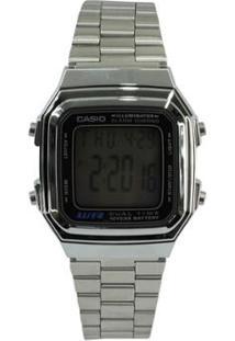 82f63188bc6 Relógio Digital Inox Vintage feminino