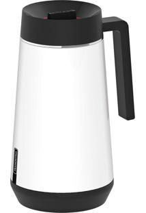 Garrafa Térmica Tramontina Exata Em Aço Inox Branco Com Infusor 500 Ml 61644054