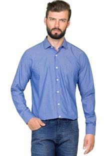 Camisa Hugo Rossi Micro Maquinetado - Masculino