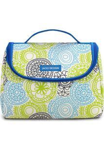 Bolsa Térmica Mandala - Azul & Branca - 16X22X12Cmjacki Design