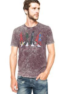 Camiseta Fashion Comics Liga Vinho