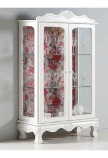 Cristaleira Antoniah Com Vidros - Tommy Design