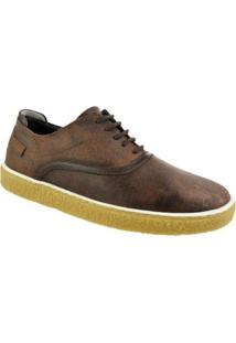 Sapato Casual Constantino Masculino - Masculino-Marrom