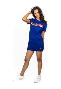Vestido Starter Nitro - Feminino-Azul