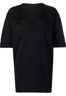 Y/Project Blusa Oversized - Preto