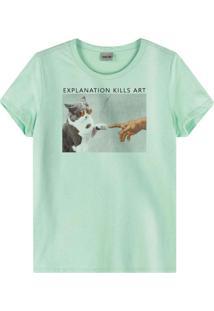 Blusa Azul Claro Explanation Kills Art