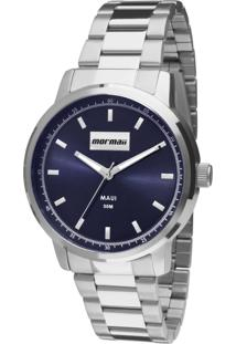 Relógio Mormaii Analógico Luau Mo2036Ht3A Prata - Kanui