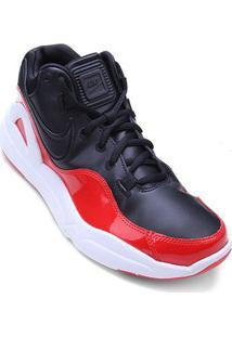 Tênis Nike Dilatta Premium Masculino - Masculino-Preto+Vermelho
