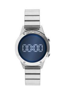 Relógio Euro Feminino Fashion Fit Reflexos Prata Eujhs31Baa/3A Eujhs31Baa/3A