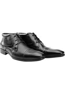 Sapato Social Couro Democrata Kashmir - Masculino