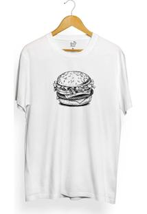 Camiseta Long Beach Burger Food - Masculino