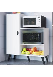 Armário De Cozinha 1 Porta Fr100 Branco - Art In Móveis