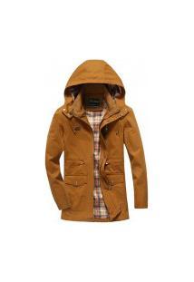 Jaqueta Masculina Plymouth - Khaki