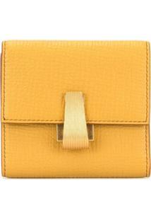 Bottega Veneta Carteira Compacta Bicolor - Amarelo
