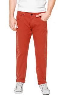 Calça Jeans Hurley 84 Slim Caramelo