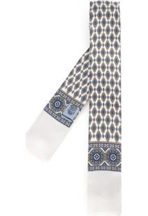 Dolce & Gabbana Gravata De Seda - Branco
