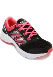 Tênis Neec Nc18-X284 Feminino - Feminino-Preto+Pink